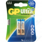 Батарейки GP LR3 AAA Ultra Plus